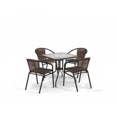 Комплект плетеной мебели Асоль-3