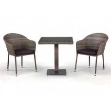 Комплект плетеной мебели из искусственного ротанга Хопкин