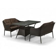 Комплект плетеной мебели из искусственного ротанга Итэн