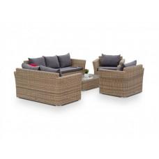 Комплект плетеной мебели Капучино Дабл