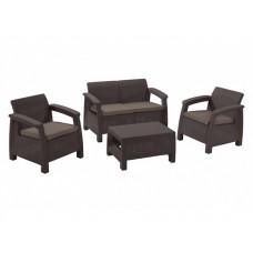 Комплект плетеной мебели Корфу сет