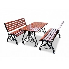 Комплект кованой мебели для сада Вена К