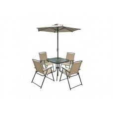 Комплект металлической мебели для сада Вайсан