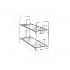 Металлическая двухъярусная кровать для взрослых Краст-2Б