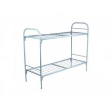 Металлическая двухъярусная кровать для взрослых Омсо-2