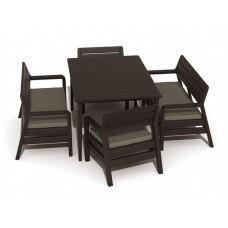 Набор пластиковой мебели Делано Сет Лайма