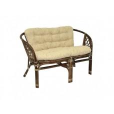 Плетеный диван для дачи Багама Д