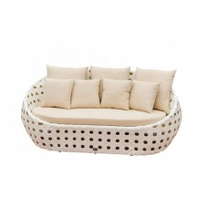 Плетеный диван для дачи Чиллаут Д