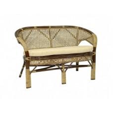 Плетеный диван для дачи Пеланги Д
