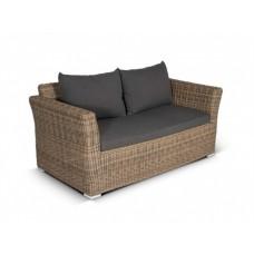 Плетеный диван Капучино Д2