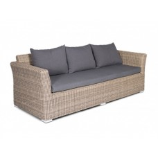 Плетеный диван Капучино Д3