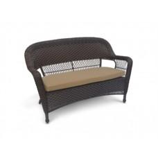 Плетеный диван Леовин