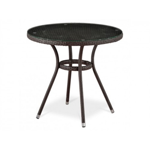 Круглый стол из ротанга Ивейн