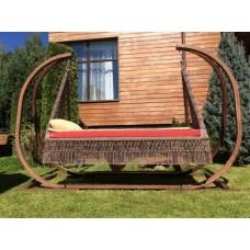 Дачные деревянные качели для сада Марракеш