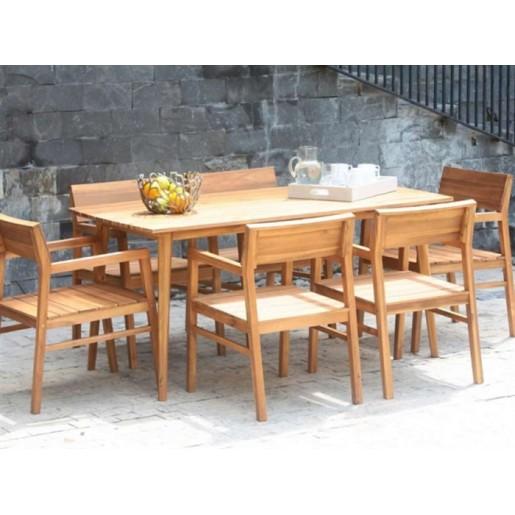 Большой дачный стол Андорра С