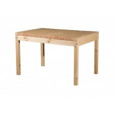 Обеденный стол из сосны для дачи Лахти 1