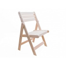 Деревянный раскладной садовый стул Сальмо