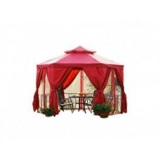 Гексагональный шатер для дачи Барокко