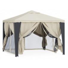 Садовый шатер с москитной сеткой для дачи Вуаль