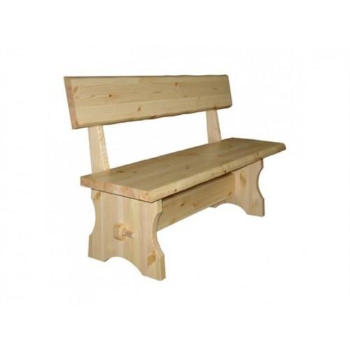 Деревянная скамейка для бани Скандинавия-17