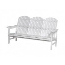 Садовая деревянная скамейка со спинкой Сандхамн-6606