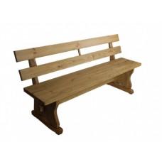 Скамейка из сосны Мона