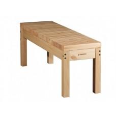 Скамья деревянная без спинки Лахти 2