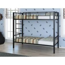 Детская двухъярусная кровать с бортиками Валенсия 4С