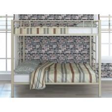 Двухъярусная кровать для детей с бортиками Валенсия 120 Твист