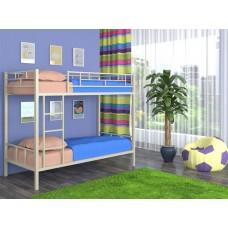 Двухъярусная кровать для малышей с высокими бортами Ницца 4С
