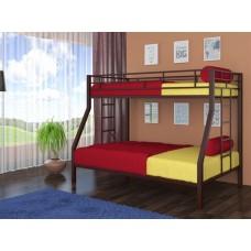 Двуспальная двухъярусная кровать для взрослых Милан 4С