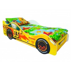 Детская кровать-машина для мальчика Тачка Бель