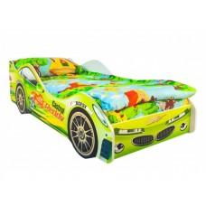 Детская кровать-машина от 3 лет Вихрь