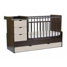 Кроватка Жираф 540