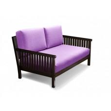 Прямой диван Норман (Венге / Белый)