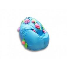 Детское мягкое кресло-мешок Роза