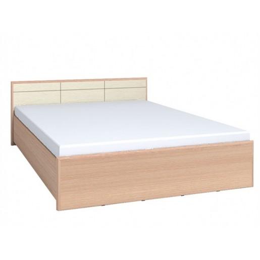 Двуспальная кровать Амели 1 ПМ дуб беленый