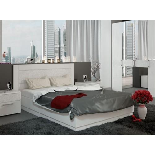 Двуспальная кровать Амели 4 КР