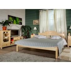 Двуспальная кровать из массива дерева Фрея-1