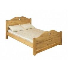 Двуспальная кровать из массива дерева Ламира