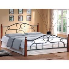 Двуспальная кровать кованая Мелисса 808
