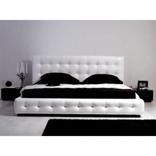 Двуспальная кровать Кристалл КМ 9 со стразами
