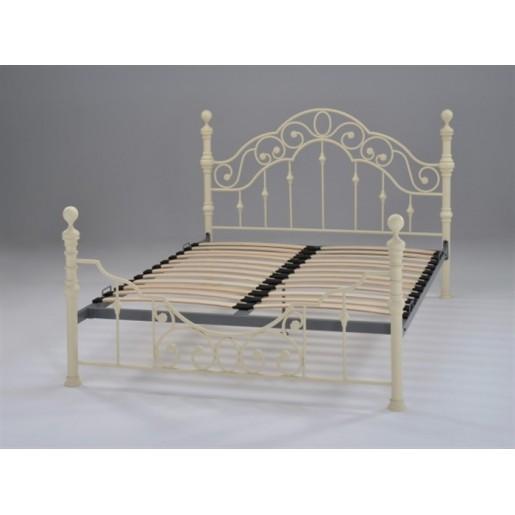 Двуспальная кровать металлическая Виктория