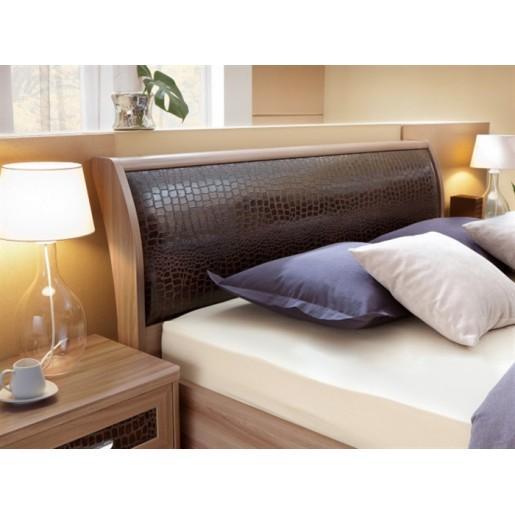 Двуспальная кровать с изголовьем из экокожи Парма 3