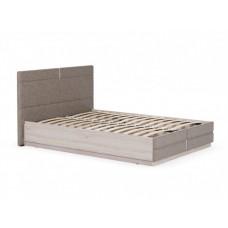 Двуспальная кровать с подъемным механизмом и мягким изголовьем Элен ПМ ДК