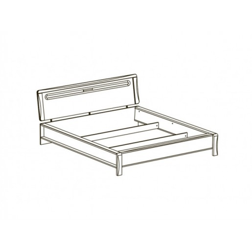 Двуспальная кровать Сакура-3