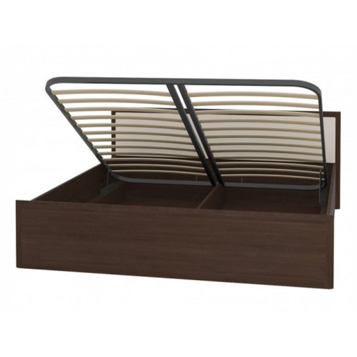 Двуспальная кровать венге Амели Люкс ПМ