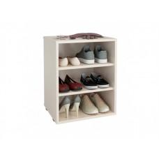 Классическая обувница в прихожую узкая Лана 1П