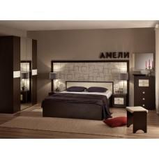 Комплект мебели для спальни Амели Венге К1