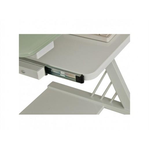 Компьютерный стол со стеклянной столешницей Теруз-1